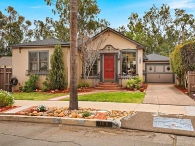 4510 W Talmadge Dr, San Diego, CA 92116 - MLS#: 180027214