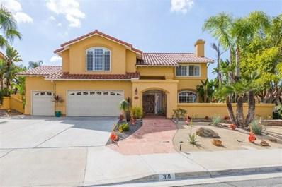 318 Canyon Ridge Drive, Bonita, CA 91902 - MLS#: 180028955