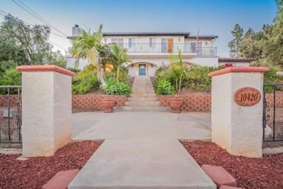 10420 San Vicente Blvd, Spring Valley, CA 91977 - MLS#: 180029728