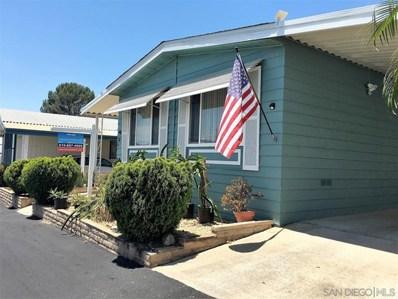 275 S Worthington St. SPC UNIT 21, Spring Valley, CA 91977 - MLS#: 180031446