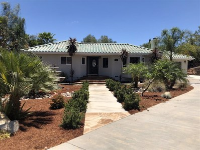 122 Orvil Way, Fallbrook, CA 92028 - MLS#: 180033422