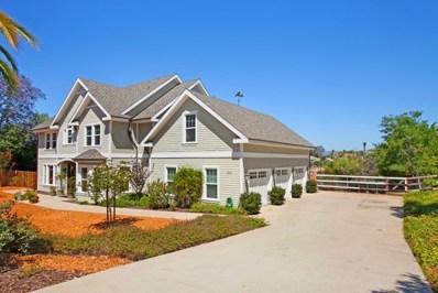 2246 Sunnycrest Lane, Fallbrook, CA 92028 - MLS#: 180035747