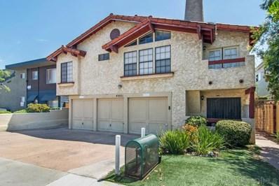 4051 Iowa UNIT 6, San Diego, CA 92104 - MLS#: 180043579