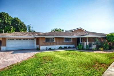 1405 Crestridge, Oceanside, CA 92054 - MLS#: 180044975