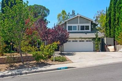 3541 Sea Ridge Rd, Oceanside, CA 92054 - MLS#: 180045013