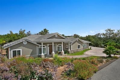 544 Oak Glade, Fallbrook, CA 92028 - MLS#: 180046146