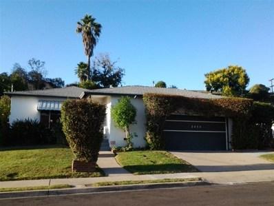 2455 Homesite Drive, San Diego, CA 92139 - MLS#: 180053060