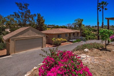 2505 Via Rancheros, Fallbrook, CA 92028 - MLS#: 180053932