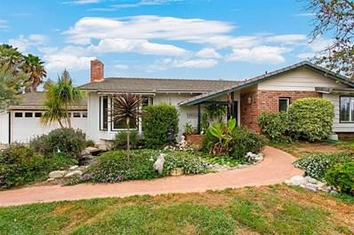 1219 Via Encinos Drive, Fallbrook, CA 92028 - MLS#: 180054302