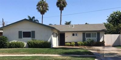 118 Frontier Drive, Oceanside, CA 92054 - MLS#: 180054379