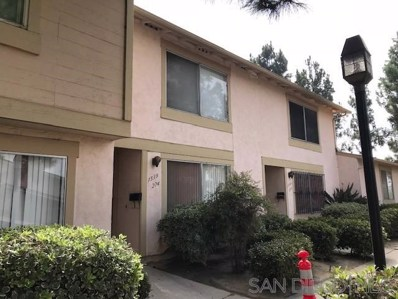 1539 SONORA DR UNIT 274, Chula Vista, CA 91911 - MLS#: 180061045