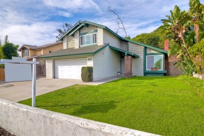 447 Mainsail Rd, Oceanside, CA 92054 - MLS#: 180063718