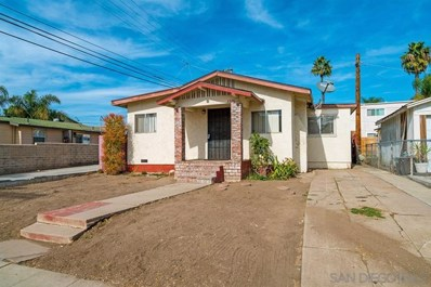 3326 Polk Avenue, San Diego, CA 92104 - MLS#: 180063763