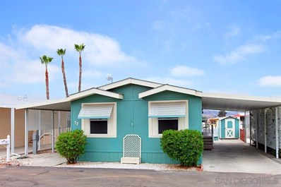 27150 Shadel Rd UNIT SPC 77, Sun City, CA 92586 - MLS#: 180065726