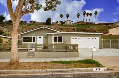 676 Roja Street, Oceanside, CA 92057 - MLS#: 180067843