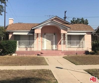 1867 W 43RD Place, Los Angeles, CA 90062 - MLS#: 18300734