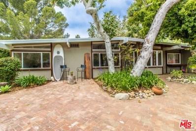 6185 PASEO CANYON Drive, Malibu, CA 90265 - MLS#: 18301524