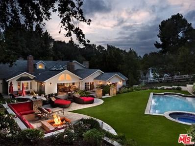 5474 ROUND MEADOW Road, Hidden Hills, CA 91302 - MLS#: 18301880