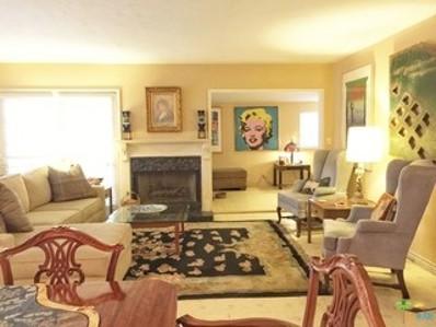 400 Onyx Drive, Palm Springs, CA 92264 - MLS#: 18307830PS