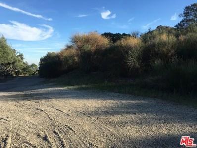 0 Saddle Peak Road, Topanga, CA 90290 - MLS#: 18309868