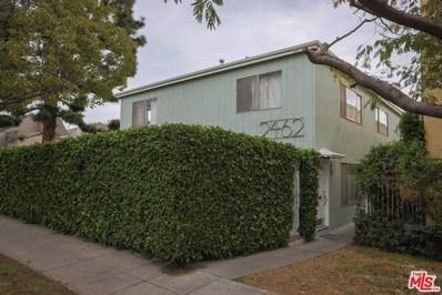 2462 Arizona Avenue UNIT 4, Santa Monica, CA 90404 - MLS#: 18310132