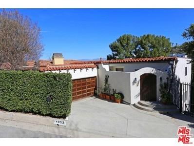 14853 Round Valley Drive, Sherman Oaks, CA 91403 - MLS#: 18311830