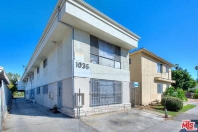 1036 N Normandie Avenue, Los Angeles, CA 90029 - MLS#: 18315692