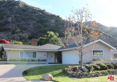 5948 Paseo Canyon Drive, Malibu, CA 90265 - MLS#: 18315704