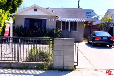 664 Indiana Avenue, Venice, CA 90291 - MLS#: 18321676