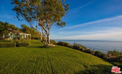 3405 Sea Ledge Lane, Santa Barbara, CA 93109 - MLS#: 18321882