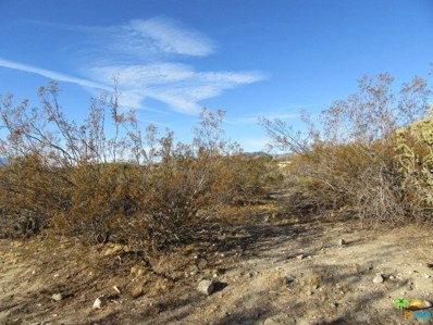 0 Ramona Trail, Morongo Valley, CA 92256 - MLS#: 18324216PS