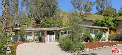4961 Calderon Road, Woodland Hills, CA 91364 - MLS#: 18331600