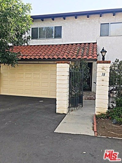 5275 Colodny Drive UNIT 18, Agoura Hills, CA 91301 - MLS#: 18333020