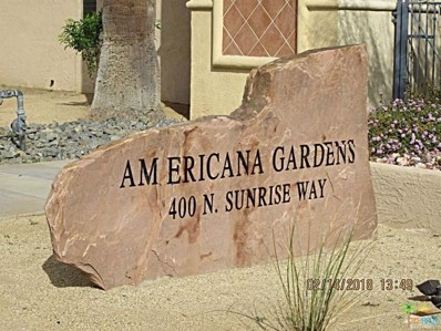 400 N Sunrise Way UNIT 206, Palm Springs, CA 92262 - MLS#: 18336432PS