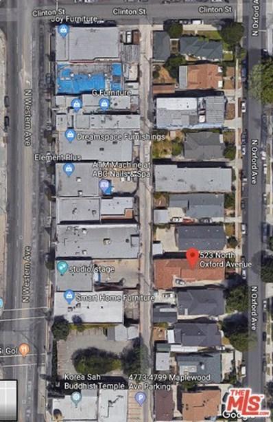 523 N Oxford Avenue, Los Angeles, CA 90004 - MLS#: 18337564