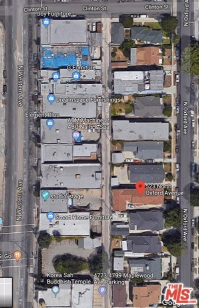 523 N Oxford Avenue, Los Angeles, CA 90004 - MLS#: 18337564