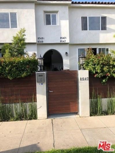 8547 Cashio Street, Los Angeles, CA 90035 - MLS#: 18339550