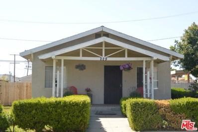 229 ALTA Street, Placentia, CA 92870 - MLS#: 18343168