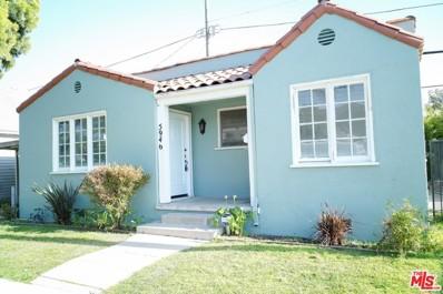 5946 Airdrome Street, Los Angeles, CA 90035 - MLS#: 18343896