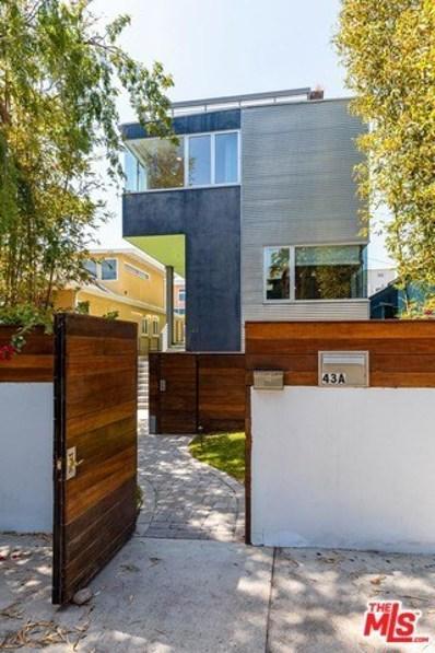 43 Ozone Avenue, Venice, CA 90291 - MLS#: 18344758