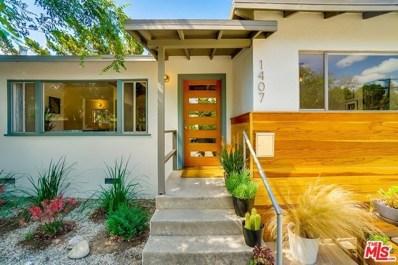 1407 EAGLE VISTA Drive, Los Angeles, CA 90041 - MLS#: 18345652