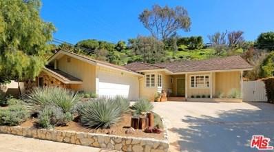 826 Jacon Way, Pacific Palisades, CA 90272 - MLS#: 18359142