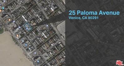 25 Paloma Avenue, Venice, CA 90291 - MLS#: 18359830