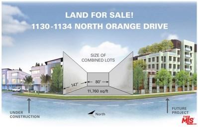 1134 N Orange Drive, Los Angeles, CA 90038 - MLS#: 18360574