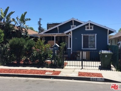250 E 43RD Place, Los Angeles, CA 90011 - MLS#: 18360986