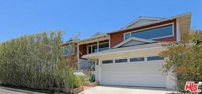 16647 Linda Terrace, Pacific Palisades, CA 90272 - MLS#: 18361312