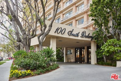 100 S DOHENY Drive UNIT 208, Los Angeles, CA 90048 - MLS#: 18362176