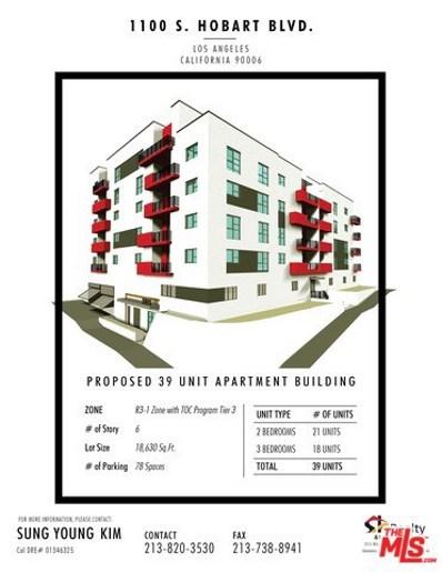 1110 S HOBART, Los Angeles, CA 90006 - MLS#: 18363438
