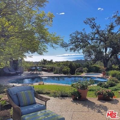 401 EL CIELITO Road, Santa Barbara, CA 93105 - MLS#: 18366174