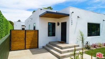 1544 S RIDGELEY Drive, Los Angeles, CA 90019 - MLS#: 18367502